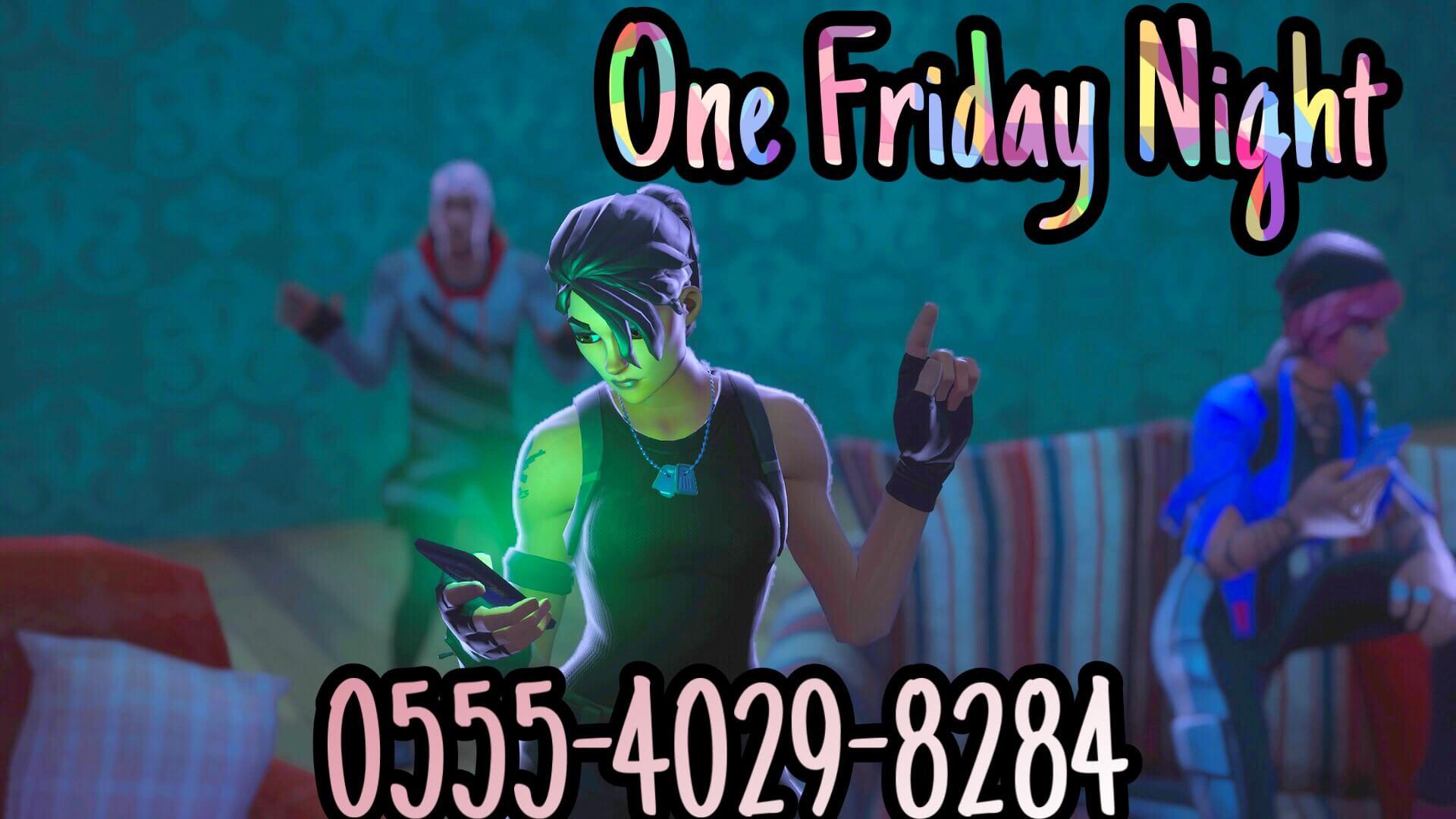 One Friday Night Fortnite Creative Map Codes Dropnitecom