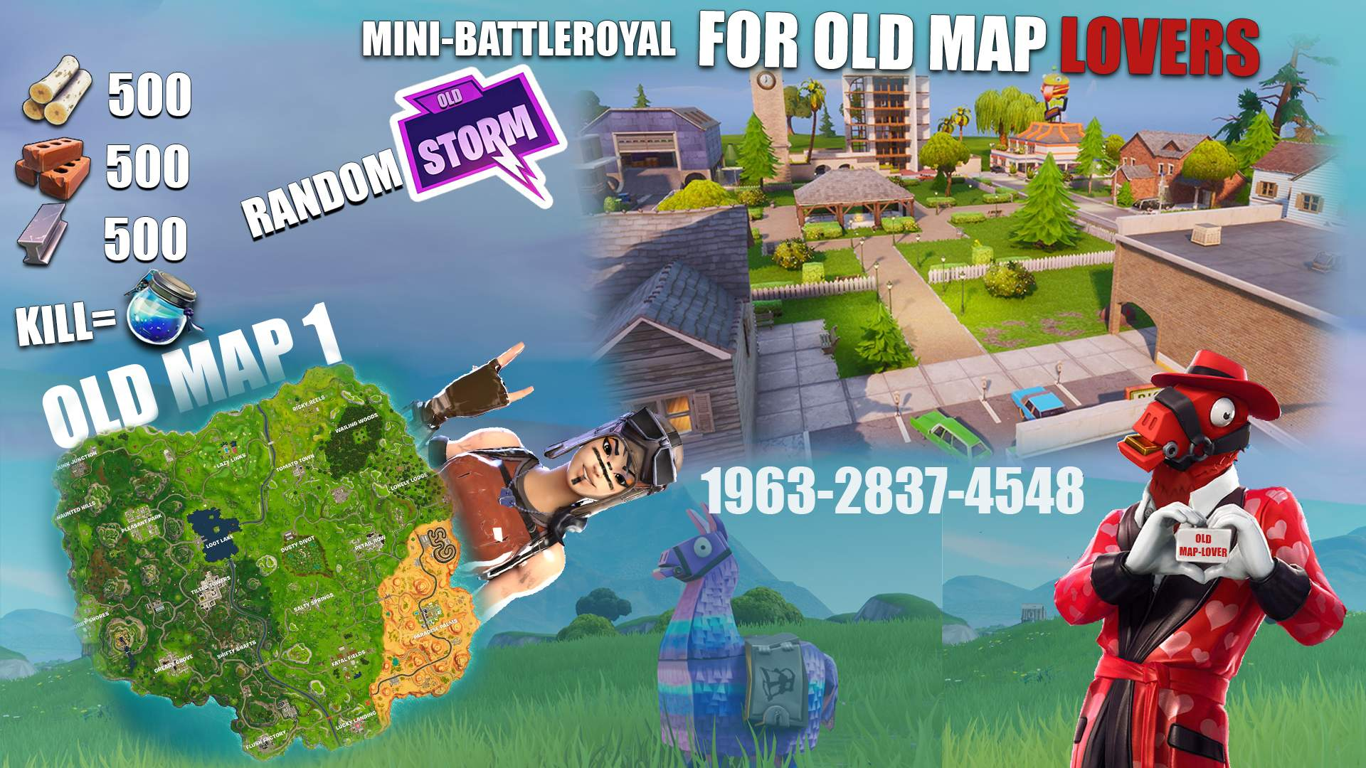 For Old Map Lovers 3 Fortnite Creative Map Codes Dropnite Com