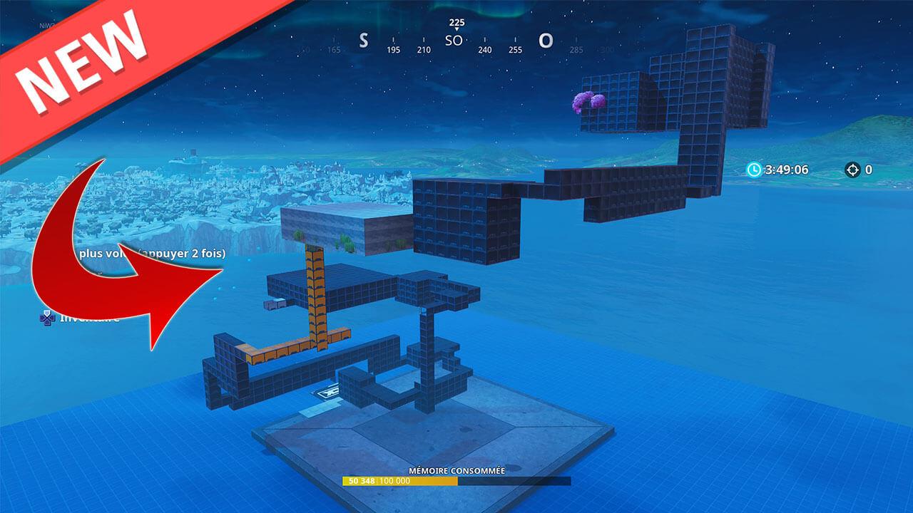 Natzys Super Easy 50 Level Deathrun Fortnite Creative