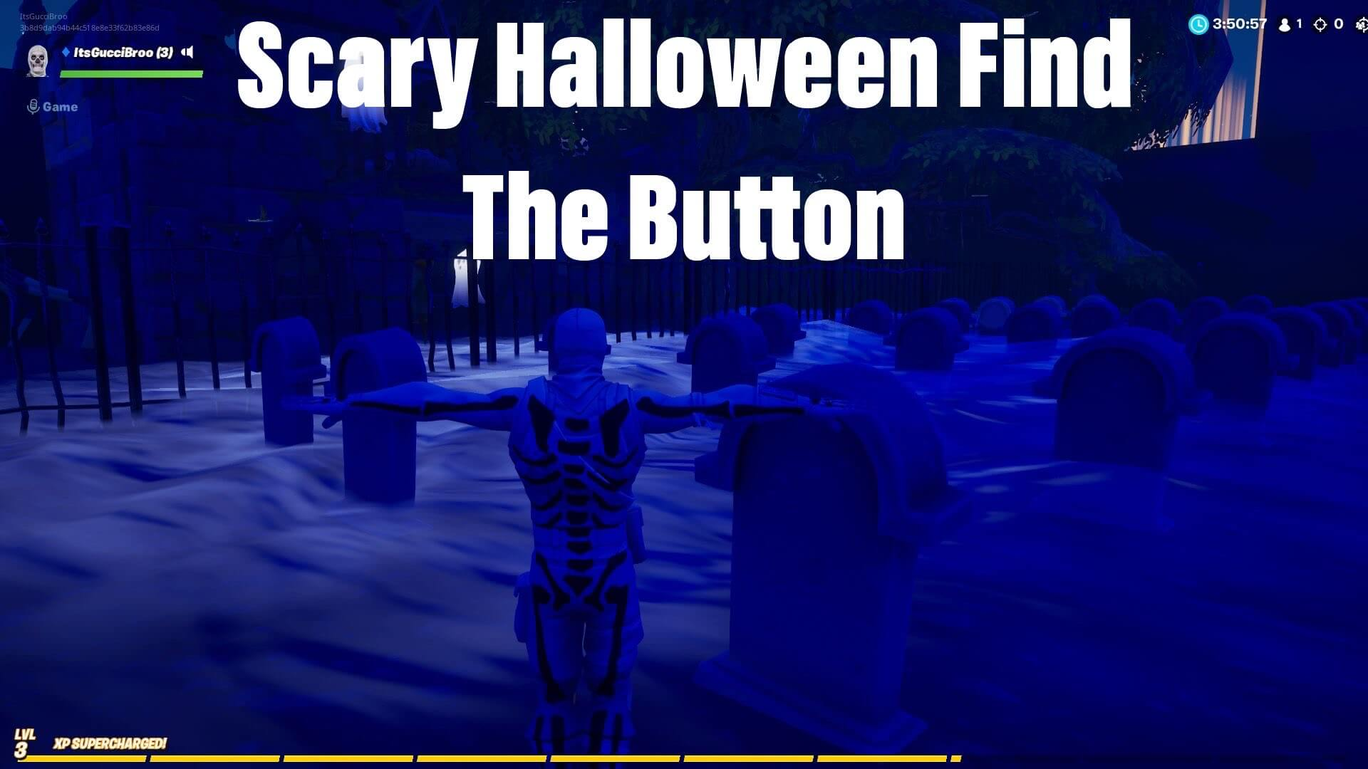 Scary Halloween Find The Button Fortnite Creative Map Codes Dropnite Com