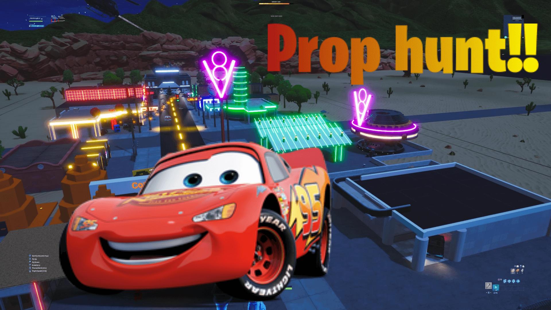 Cars Radiator Springs Prop Hunt Night Fortnite Creative Map Codes Dropnite Com