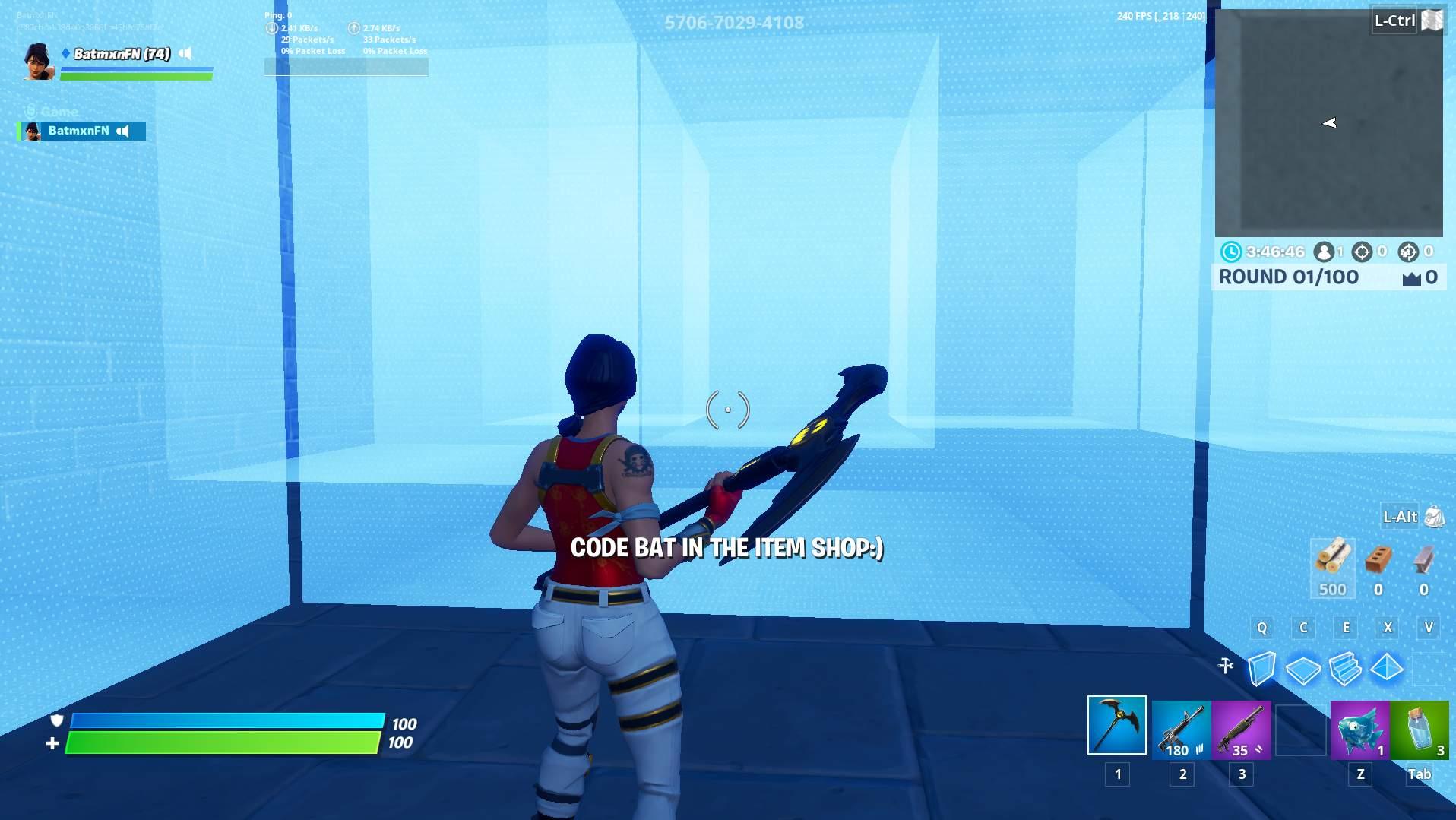 1v1v1v1 Fortnite Code Realistic Box Fight Ffa Fortnite Creative Map Code Dropnite