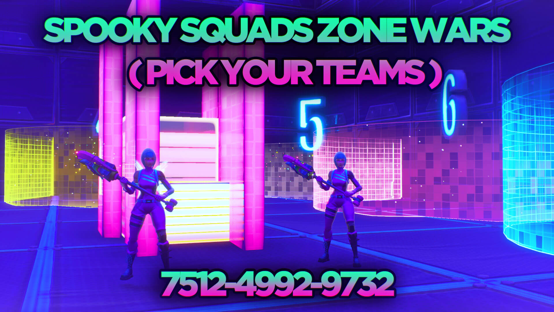 Spooky Zone Wars Squads Pick Teams Fortnite Creative
