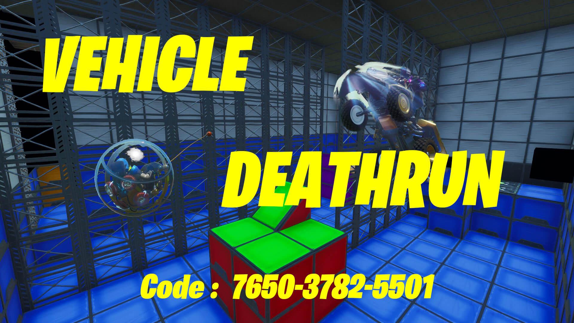 Vehicle Deathrun Fortnite Creative Map Codes Dropnite Com