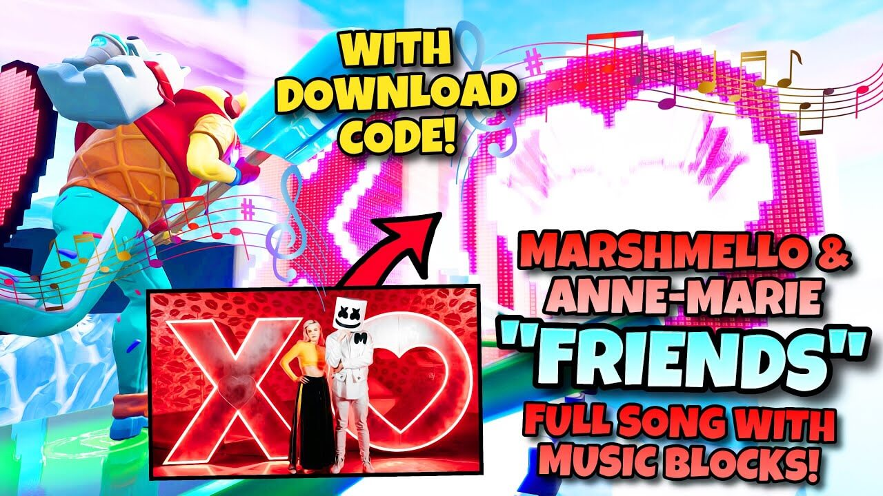 Marshmello Anne Marie Friends Fortnite Creative Map Codes