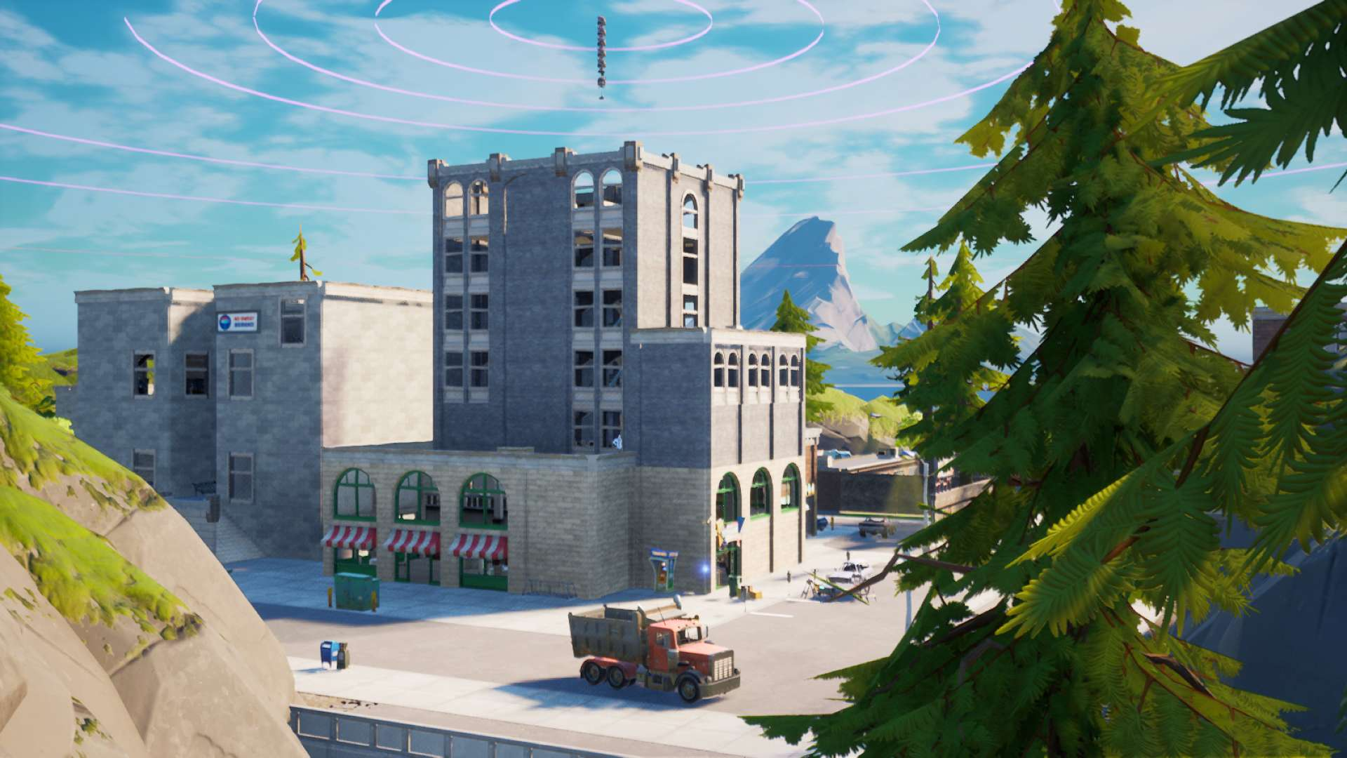 Fortnite Blue Tilted Towers Tilted Towers Zone Wars Chapter 2 Fortnite Creative Map Code Dropnite
